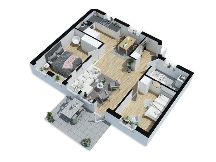 Lägenhet på Kungsgatan 4 i Alvesta