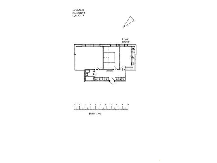 Lägenhet på Storgatan 8C i Arvidsjaur