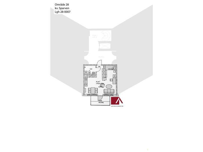 Lägenhet på Östra Skolgatan 15A i Arvidsjaur