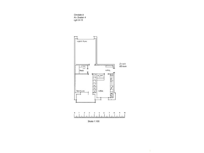 Lägenhet på Västlundavägen 45B i Arvidsjaur