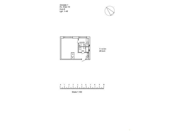 Lägenhet på Ringelvägen 36C i Arvidsjaur