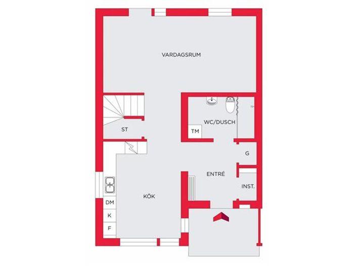 Lägenhet på Folksagornas väg 13 i Ale