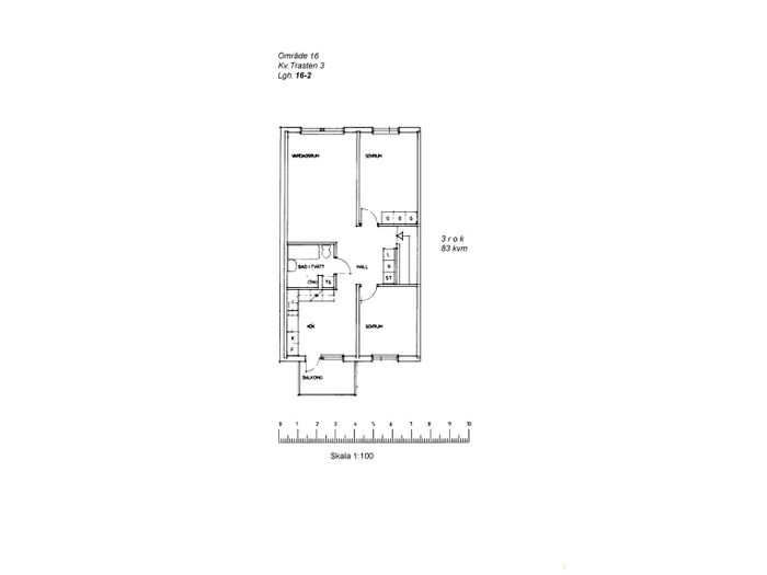 Lägenhet på Skomakaregatan 40B i Arvidsjaur
