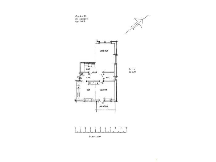Lägenhet på Skomakaregatan 36 i Arvidsjaur