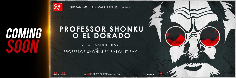 Professor Shonku O El Dorado