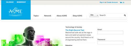 American Society of Mechanical Engineers