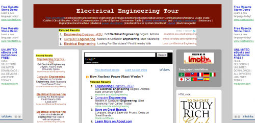 Electrical Engineering Tour