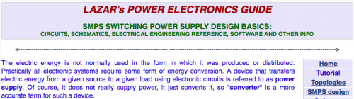 Lazar's Power Electronics Guide