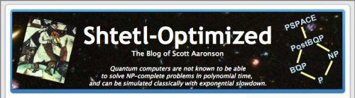 Shtetl-Optimized