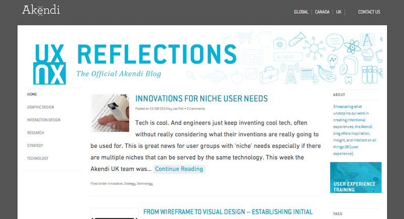 UX Reflections