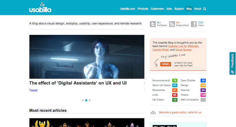Top User Experience And User Interface Blogs Pannam