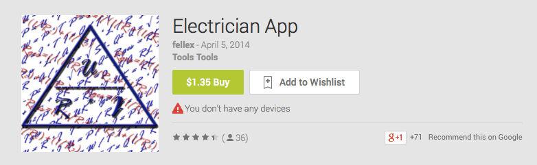 Electrician App