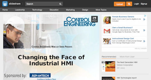 Changing the Face of Industrial HMI