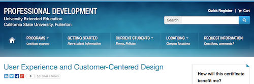 User Experience and Customer-Centered Design