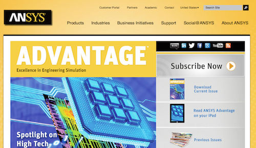 ANSYS Advantage Magazine