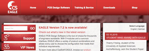 EAGLE PCB Design Software