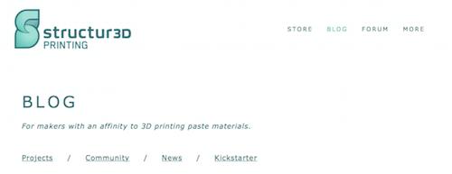 Structur3D Printing