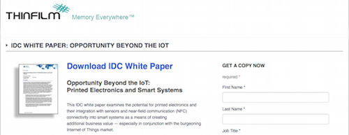 Opportunity Beyond the IoT Printed Electronics and Smart Systems