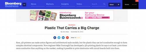 Plastic That Carries a Big Charge