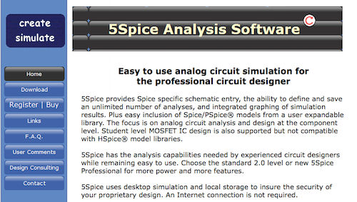 5Spice Analysis Software
