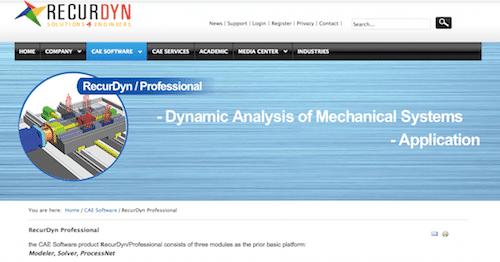 RecurDyn Professional