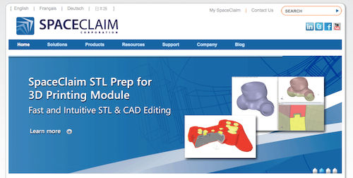 SpaceClaim 3D Modeling Software