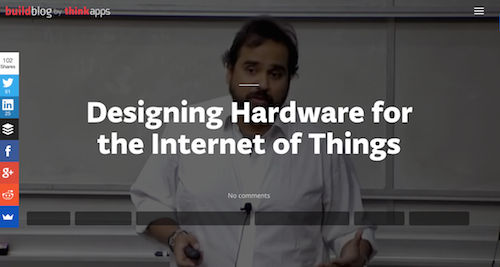 Designing Hardware for the Internet of Things
