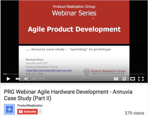 PRG Webinar Agile Hardware Development - Annuvia Case Study (Part II)