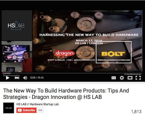 The New Way To Build Hardware Products Tips and Strategies - Dragon Innovation @ HS LAB