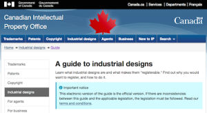 A Guide to Industrial Designs