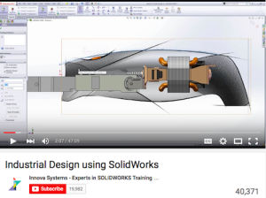 Industrial Design using SolidWorks