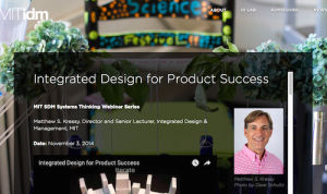 Integrated Design for Product Success