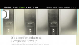 Its Time for Industrial Design To Grow Up