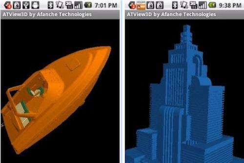 CAD View 3D MFC