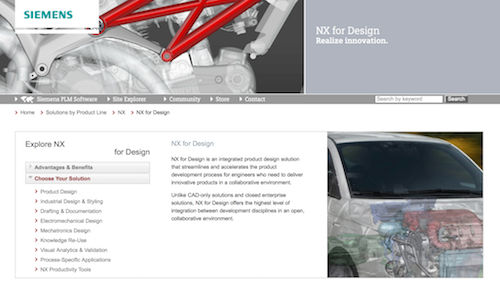 NX for Product Design