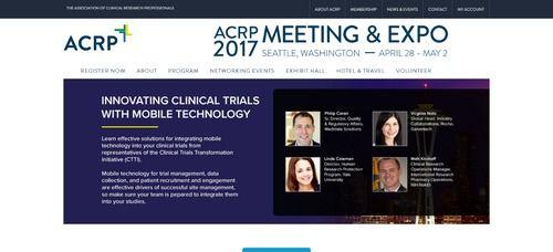 MedTech ACRP Meeting 2017