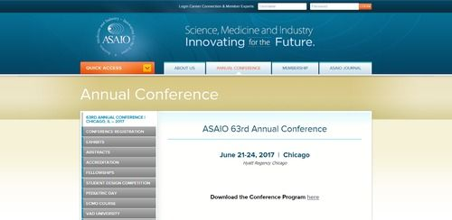ASAIO 62nd Annual Conference