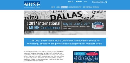 2017 International MUSE Conference