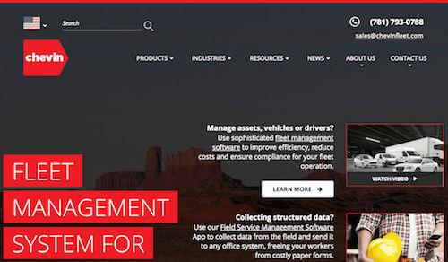 Chevin Fleet Management System for Enterprises