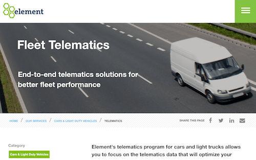 Element Fleet Telematics