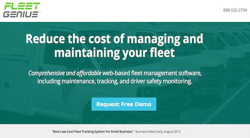 Fleet Genius Fleet Management Software