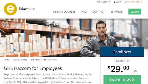 GHS Hazcom for Employees