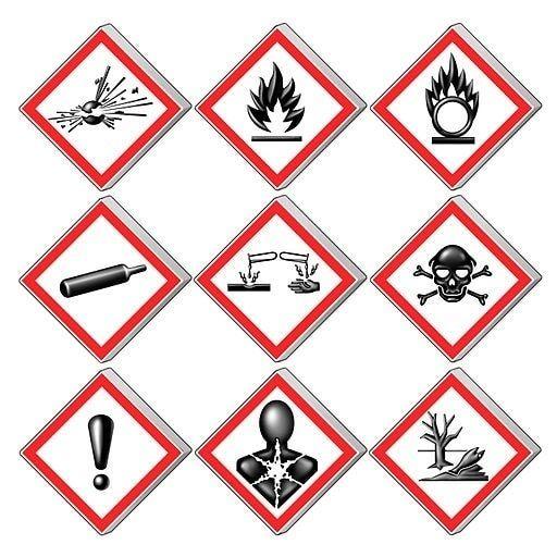 HazCom Safety Labels