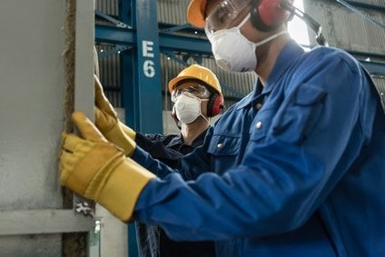 Protective Safety Gear for High-Pressure Boiler Inspection