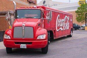 Commercial Coca-Cola Truck