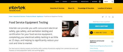 ETL vs UL Certification: What Food Equipment Companies Need