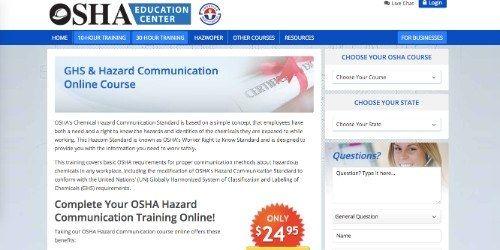 osha education center