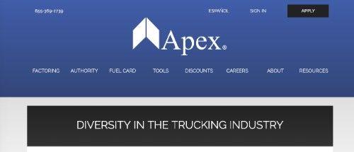 Apex Capital Corp Trucking Blog