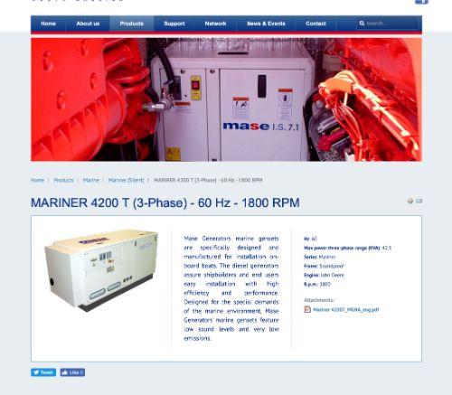 MASE Mariner 4200 T