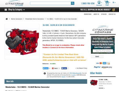 50 Best Marine Generators - Metalphoto Of Cincinnati Westerbeke Kw Generator Wiring Diagram on